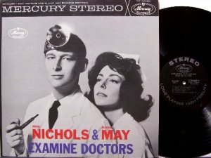 Nichols, Mike & Elaine May - Examine Doctors - Vinyl LP Record - Comedy Odd Unusual