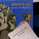Kindergarten Songs - Games & Rhythms - Vinyl LP Record - Children Kids