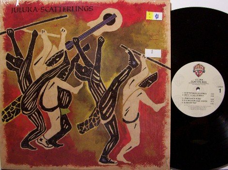 Juluka - Scatterlings - Vinyl LP Record - African Beats - Odd Unusual