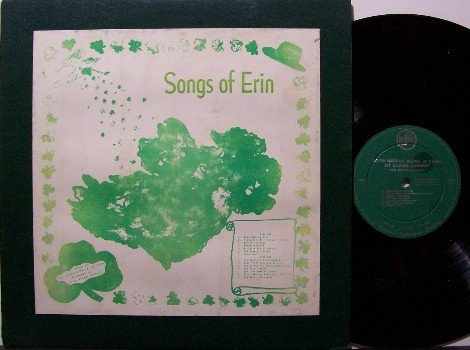 Irish / Celtic Private Vinyl LP Record - Songs Of Erin - Sister Josepha Maria of Mt. Carmel Convent