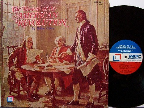 History Of The American Revolution - Tennessee Bicentennial - Vinyl LP Record - Odd Unusual
