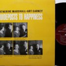 Guideposts To Happiness - Art Carney & Catherine Marshall - Vinyl LP Record - Odd Unusual