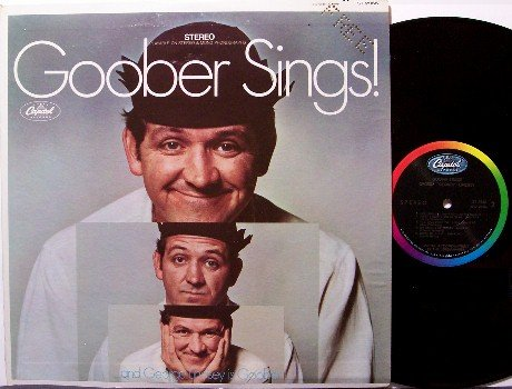 Goober Sings - George Lindsey - Vinyl LP Record - Andy Griffith - Odd Unusual