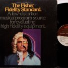 Fisher Fidelity Standard, The - Vinyl LP Record - Stereo Test Album - Odd Unusual