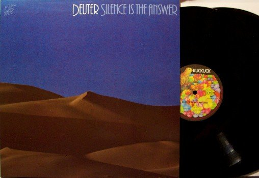 Deuter - Silence Is The Answer - 2 Vinyl LP Record Set - New Age Spiritual Krautrock - German - Odd
