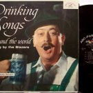 Blazers, The - Drinking Songs From Around The World - Vinyl LP Record - Beer Booze Odd Unusual