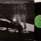 Apollo 11 Man's Incredible Venture To The Moon - Vinyl LP Record - Space Exploration - Odd Unusual