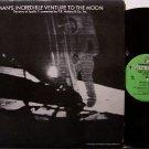 Apollo 11 Man's Incredible Venture To The Moon - Vinyl LP Record - Space Exploration - Odd Unusual