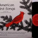 American Bird Songs - Vinyl LP Record - Actual Bird Animal Sounds - Odd Unusual