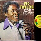 Taylor, Vic - Does It His Way - Vinyl LP Record - Jamaica Pressing - Reggae