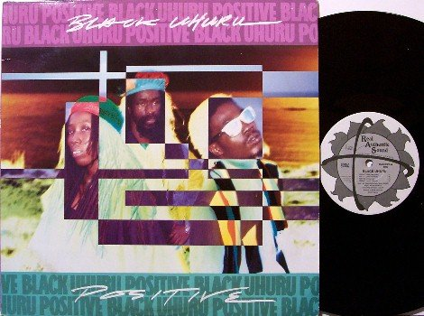 Black Uhuru - Positive - Vinyl LP Record - Reggae