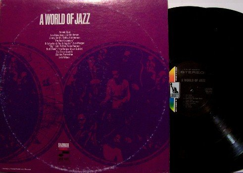World Of Jazz, A - 2 Vinyl LP Record Set - Joe Henderson, Jimmy Smith, Lee Morgan, The Three Sounds