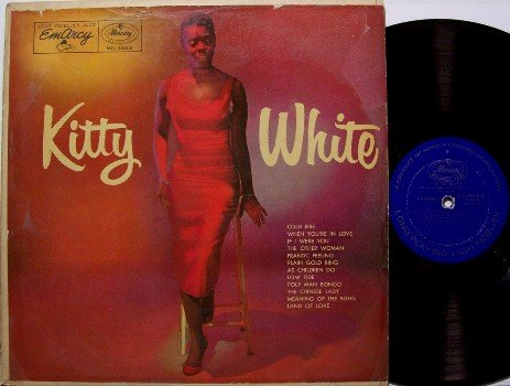 White, Kitty - Self Titled - Vinyl LP Record - Mercury Emarcy Mono - Jazz
