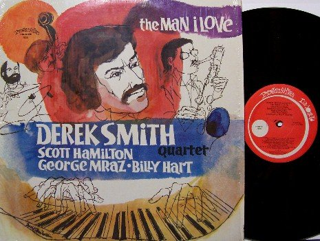 Smith, Derek Quartet - The Man I Love - Vinyl LP Record - David Stone Martin cover - DSM - Jazz