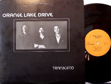 Orange Lake Drive - Transcend - Vinyl LP Record - 1982 Private Label Michigan Jazz