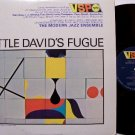 Modern Jazz Ensemble - Little David's Fugue - Vinyl LP Record - Verve Mono - Jazz