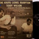 Krupa, Gene, Lionel Hampton, Teddy Wilson - Playing Some Of  - Vinyl LP Record - Clef Mono - Jazz