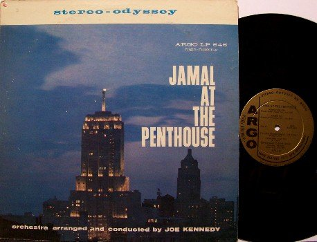 Jamal, Ahmad - Jamal At The Penthouse - Vinyl LP Record - Argo Jazz