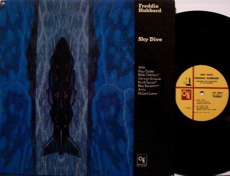 Hubbard, Freddie - Sky Dive - Vinyl LP Record - CTI Jazz