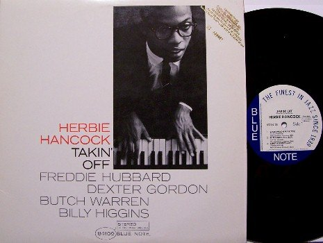 Hancock, Herbie - Takin' Off - Vinyl LP Record - Gold Promo Stamp - Jazz