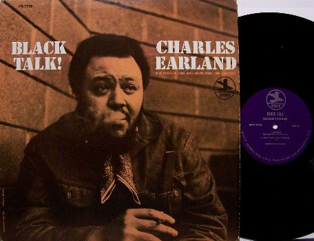 Earland, Charles - Black Talk  - Vinyl LP Record - Prestige Label - Jazz Funk - RVG - Van Gelder
