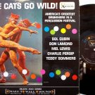 Cats Go Wild, The - Vinyl LP Record - Drum Festival - Unusual Cover - Jazz