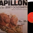 Papillon - Soundtrack - Vinyl LP Record - Steve McQueen / Dustin Hoffman - Jerry Goldsmith - OST