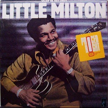 Little Milton - Walkin' The Back Streets - Sealed Vinyl LP Record - Memphis Blues
