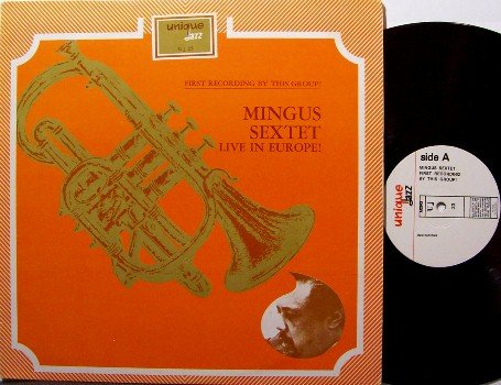 Mingus, Charles - Live In Europe - Vinyl LP Record - Israel Pressing - Jazz