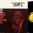 Davis, Eddie Lockjaw & Shirley Scott - Jaws - Vinyl LP Record - Prestige Mono Jazz