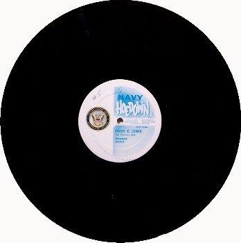 Lewis, Hugh X. - Navy Hoedown Promo Radio Show - Vinyl LP Record - Country