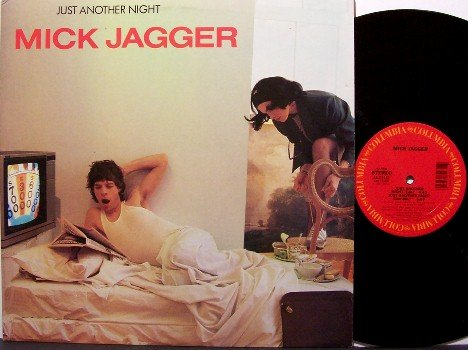 "Rolling Stones / Mick Jagger - Just Another Night - 12"" Vinyl LP Record - 3 Mixes - Promo - Rock"