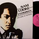 Cooke, Sam - Evergreen - Vinyl LP Record - 20 Unusual Songs - R&B Soul