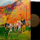 Leroy Neiman Art Artwork - Fighting Irish of Notre Dame - 2 Vinyl LP Record Set - Football Sports