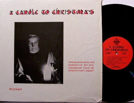Cistercian Nuns Of Wrentham Abbey - A Candle For Christmas - Vinyl LP Record - Weird Odd Unusual