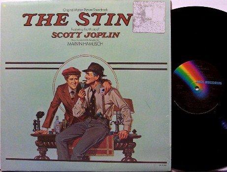 Sting, The - Soundtrack - Vinyl LP Record - Shrink Wrap - Scott Joplin / Marvin Hamlisch - OST