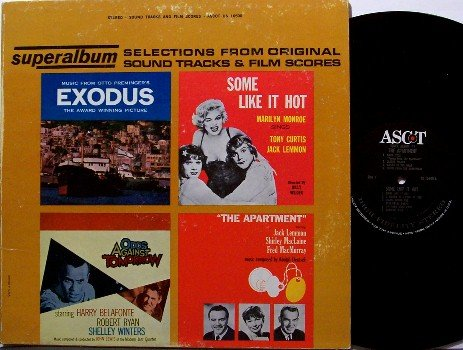 Some Like It Hot Superalbum Sampler - Soundtrack - Vinyl LP Record - Marilyn Monroe - OST
