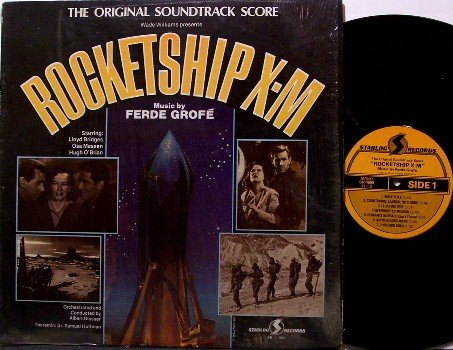 Rocketship X-M - Soundtrack - Vinyl LP Record - Music by Fred Grofe - In Shrink Wrap - OST