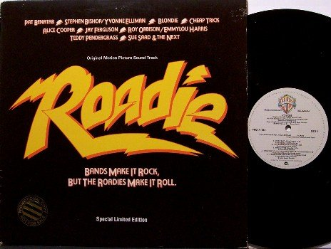 Roadie - Soundtrack - Promo Only Single Disc Version - Vinyl LP Record - Rock - OST