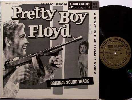 Pretty Boy Floyd - Soundtrack - Vinyl LP Record - Original 1960 Mono Issue - OST