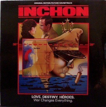 Inchon - Soundtrack - Sealed Vinyl LP Record - Jerry Goldsmith Music - OST