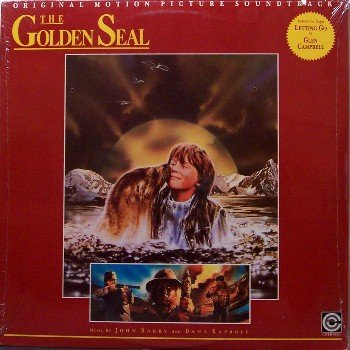 Golden Seal, The - Soundtrack - Sealed Vinyl LP Record - John Barry - OST