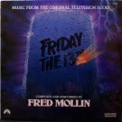 Friday The 13th Series - Soundtrack - Sealed Vinyl LP Record - Television Score - Fred Mollin - OST