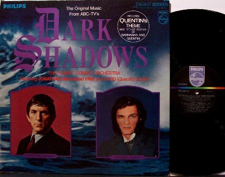 Dark Shadows - Soundtrack - Vinyl LP Record - OST