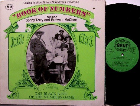 Book Of Numbers - Soundtrack - Vinyl LP Record - Blues - Sonny Terry / Brownie McGhee - OST