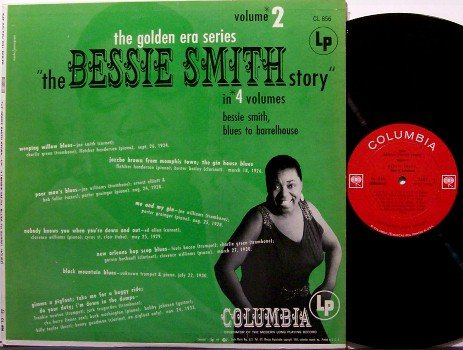 Smith, Bessie - The Golden Era Series Volume 2 - Vinyl LP Record - Blues - Mono
