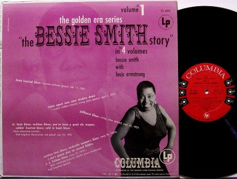 Smith, Bessie - The Golden Era Series Volume 1 - Vinyl LP Record - Blues - Mono - Columbia 6 Eye