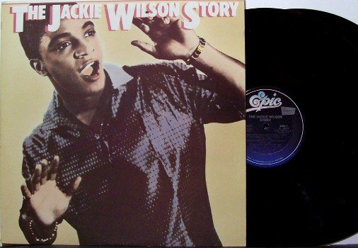Wilson, Jackie - The Story - Vinyl 2 LP Record Set - Promo - R&B SOul