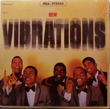 Vibrations, The - New Vibrations - Sealed Vinyl LP Record - Okeh Stereo- R&B Soul