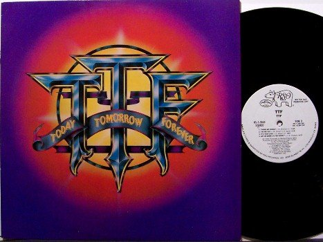 T T F - Today Tomorrow Forever - Vinyl LP Record - White Label Promo - ttf - Funky Disco Soul